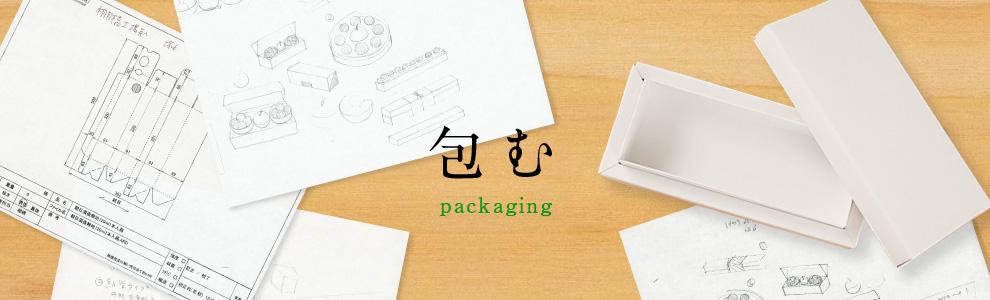 包む packagingングのイメージ写真